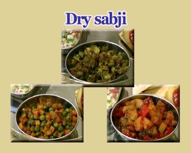 Dry Sabji