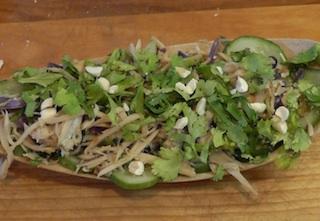 Thai Bamboo Shoot Salad